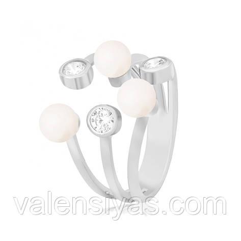 Серебряное кольцо К2ФЖ/174, фото 2