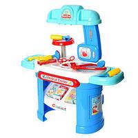 Игровой медицинский набор столик 66-30-68 см, 25 деталей