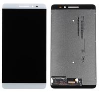 Дисплей (экран) для Lenovo PB1-770M LTE Phab Plus + с сенсором (тачскрином) белый