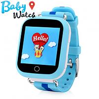 Детские умные часы Smart Watch GPS трекер Q100s Blue / детские ЧАСЫ - ТЕЛЕФОН / Гарантия