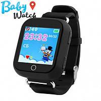 Детские умные часы Smart Watch GPS трекер Q100s Black / детские ЧАСЫ - ТЕЛЕФОН / Гарантия