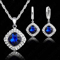 Ювелирный комплект Принцесса серебро