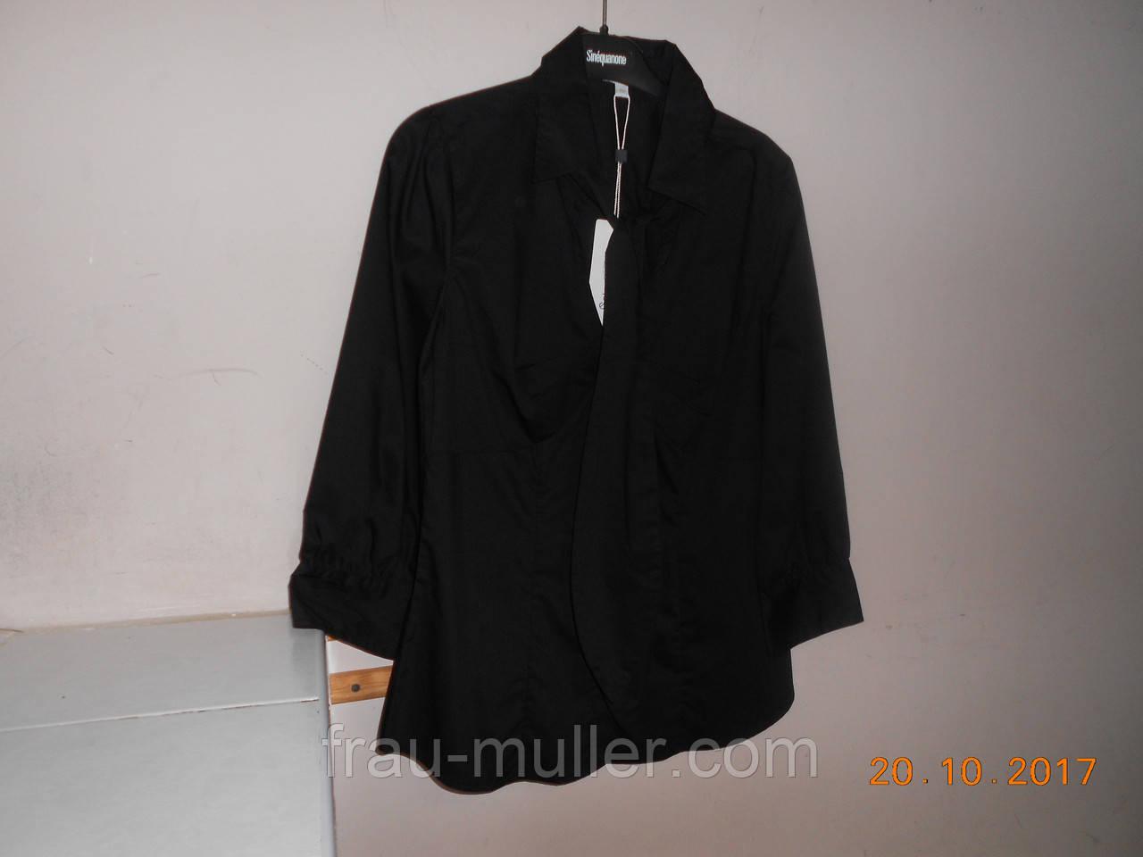da341f660a04 Красивая черная блузка с галстуком Solar, цена 880 грн., купить Одеса —  Prom.ua (ID#607336210)