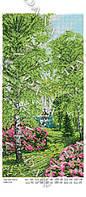 Схема на ткани для вышивки бисером Времена года Весна  DANA 5106