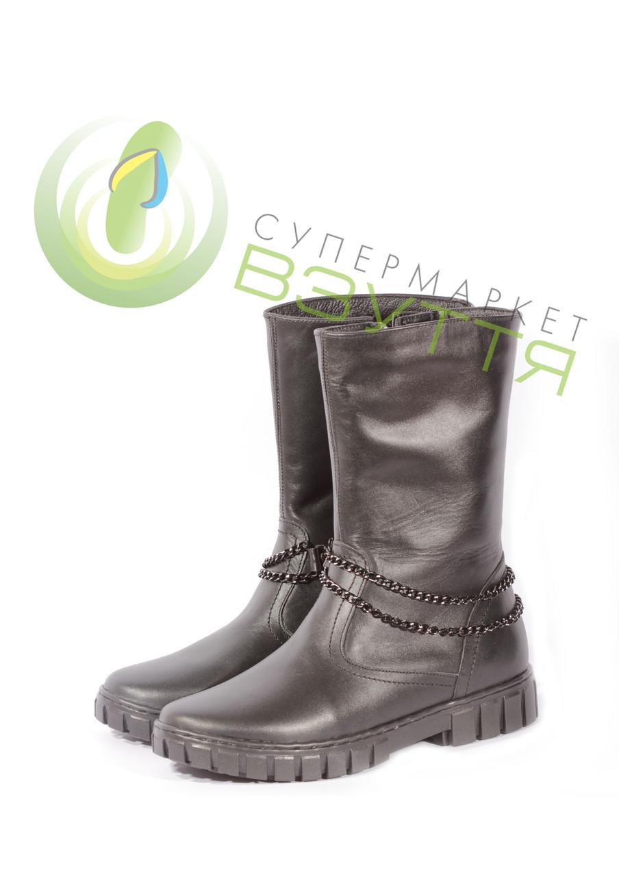 Зимние кожаные сапоги Alexia  31 РАЗМЕР