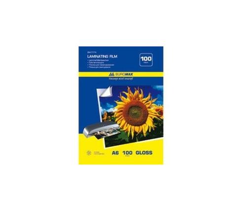 Плівка для ламінування100мкм,А6(111*154мм),100шт, фото 2