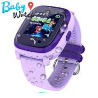 Детские умные часы Водонепроницаемые Smart Watch GPS трекер DF25  Purple / детские ЧАСЫ - ТЕЛЕФОН /