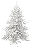 Искуственная ель высотой 2,4метра, белая, пластиковая крестовина