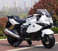 Детский электромотоцикл T-7216 WHITE мотоцикл, BMW, белый ***