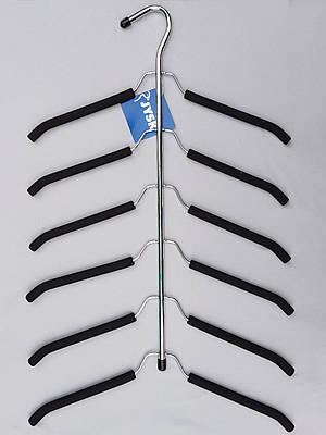 Плечики вешалки  поролоновые 6 ярусов, 41,5  см