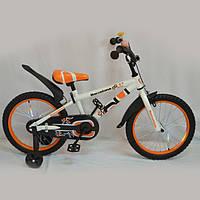 Детский велосипед Barcelona оранжевый 14д.