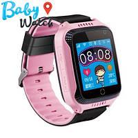Детские умные часы Smart Watch GPS трекер Q528 pink / детские ЧАСЫ - ТЕЛЕФОН / Гарантия