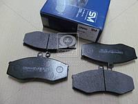 Колодки тормозные диск. Зил 5301 Бычок (пр-во Dafmi), Д531СМ