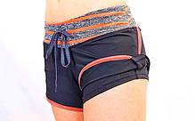 Короткі шорти для занять в тренажерному залі жіночі Under Armour CO-1721-1, фото 2