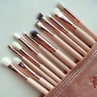 Набор кистей для макияжа Zoeva Rose Golden Complete Eye Set (копия), фото 1