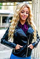 Куртка женская экокожа р-ры 42-46, фото 1