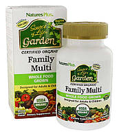 Nature's Plus - Source of Life Garden Organic Family Multi - 60 Chewables