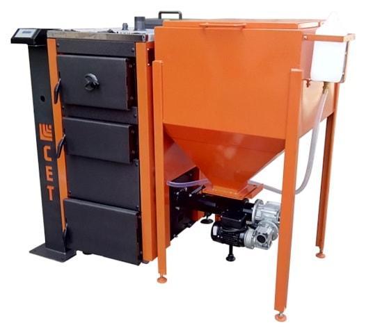 Котел твердотопливный, пеллетный автоматический 25 кВт., фото 1