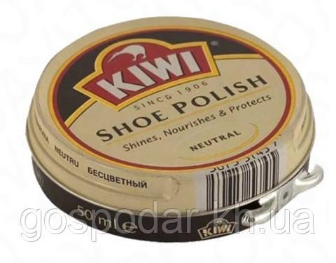 """Крем для взуття в банці """"Нейтральний"""" KIWI Shoe Polish."""