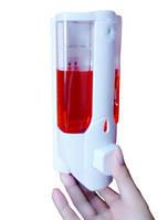 Диспенсер дозатор для жидкого мыла настенный автоматический податчик моющих средств шампуня