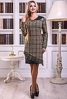 Платье 12-2430 -  черно-кофейный: М L XL