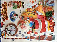 Интерьерная наклейка 3d Merry Christmas