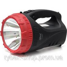 Ручной светодиодный аккумуляторный фонарь Luxury YJ-2827