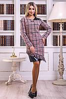 Платье 12-2429 -  черно-красный: М L XL