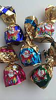 Конфеты  с «хрустящими» начинками кокос, миндаль, грецкий орех, ваниль и апельсин Baron, фото 1