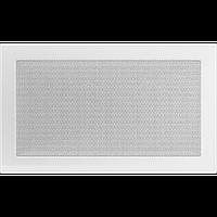 Решітка вентиляційна Біла (фарбована) 22*37