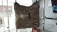Женская замшевая сумка с лазерным покрытием мягкая по низкой цене