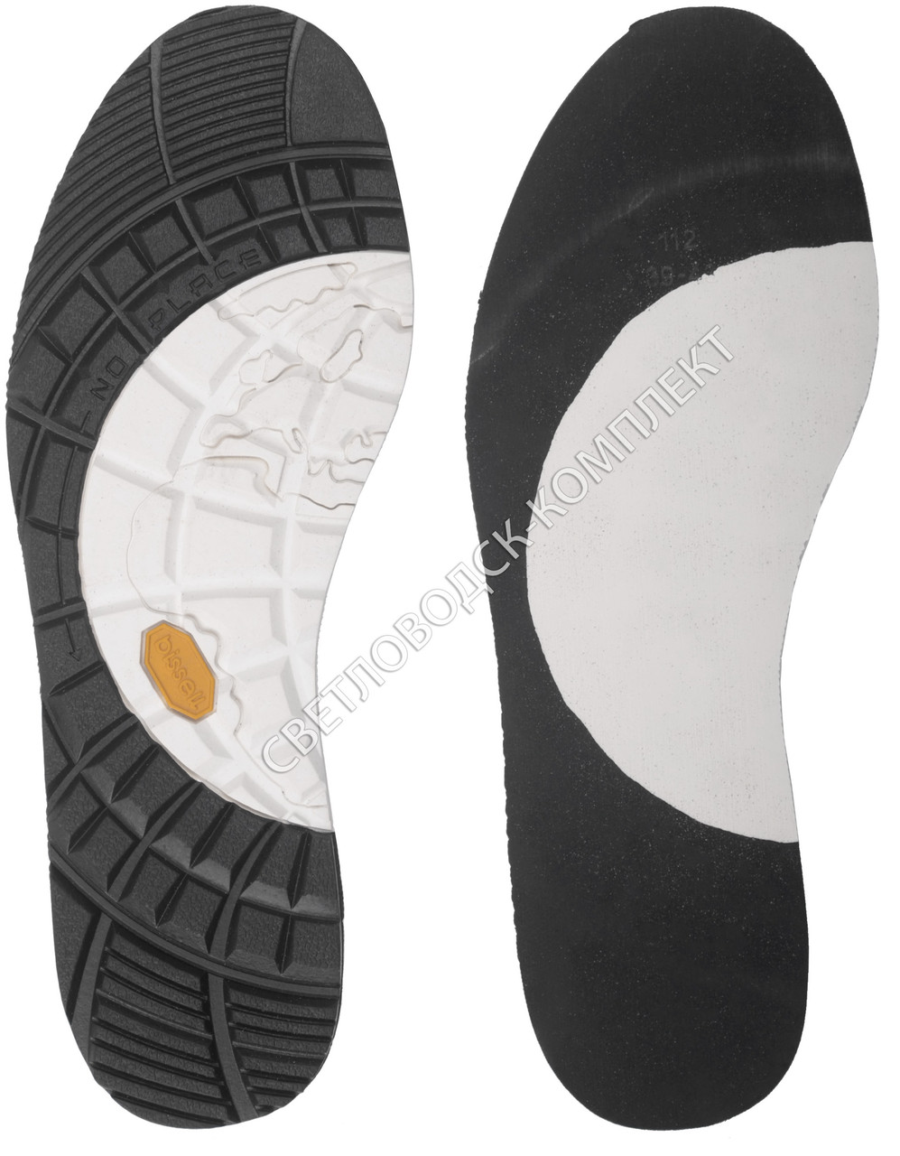Резиновая подошва для обуви BISSELL, art.112, 39-40 р. - Светловодск-Комплект в Кировоградской области
