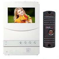 "Комплект видеодомофона PoliceCam PC-431 W HD (PC-201) с экраном 4,3"""