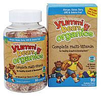 Hero Nutritionals Products  Yummi Bears Organics Complete Multi-Vitamin 90 Gummies