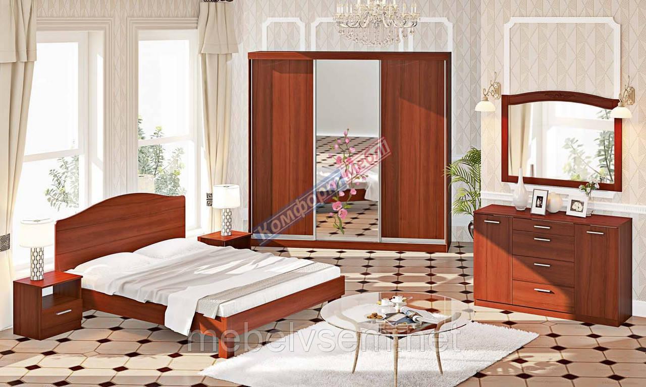 Спальня СП 4504 серии Эко от Комфорт мебель