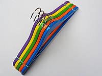 Плечики детские деревянные микс цветов, 36 см, 5  штук в упаковке