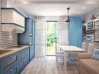 Кухня на заказ BLUM-017 краска по RAL каталогу