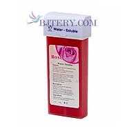 Водорастворимый воск — кассета роза, кассетный воск для депиляции