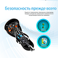 Автомобильное зарядное устройство Promate proCharge.LT Black, фото 6