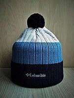 Зимняя тёплая шапка Columbia с бубоном