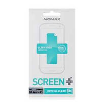 Защитная пленка для Sony Xperia Z1 C6902 - Momax Crystal Clear (глянцевая)