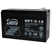 ENOT Аккумулятор для ИБП ENOT 12V 7.5AH (NP7.5-12) AGM