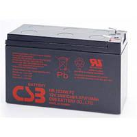 CSB Аккумулятор для ИБП CSB 12V 9AH (HR1234W) AGM