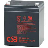 CSB Аккумулятор для ИБП CSB 12V 5AH (HR1221W) AGM, F2
