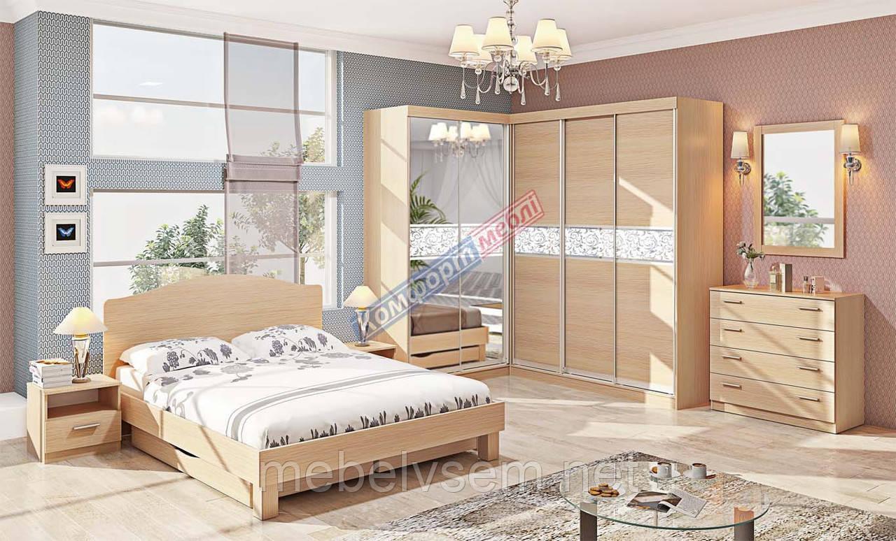 Спальня СП 4506 серии Эко от Комфорт мебель