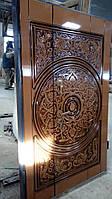 Дверь входная нестандартные решения