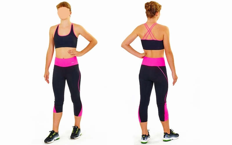 Топ для фітнесу і йоги CO-163-1