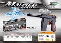 Игрушечное оружие набор автомат Маузер d3a на аккумуляторах с очками