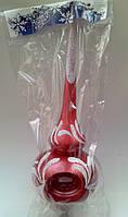 Новогодние украшения верхушка на елку лунка с узорами  большая 25 см