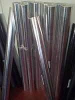 Фольга алюминиевая клейкая (рулон 12м.кв)